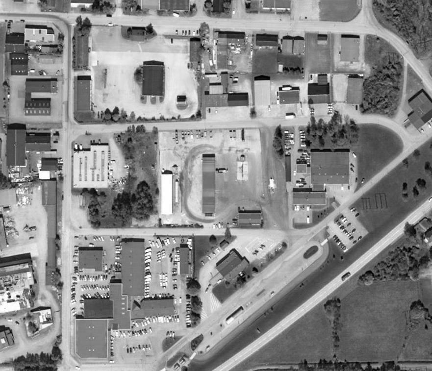 Dagvattenutredning i Horby centrum bild 1 sida