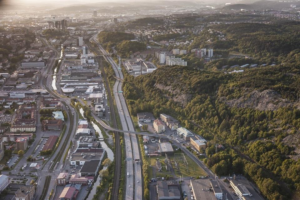 Lokaliseringsstudie Goteborg-Boras, delen Almedal-Molnlycke bild sida - Copy